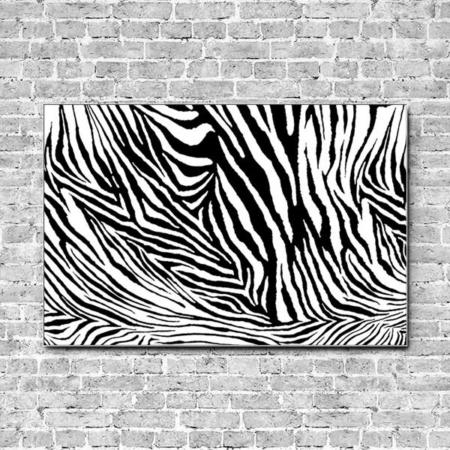 Akustikbild Zebra Querformat