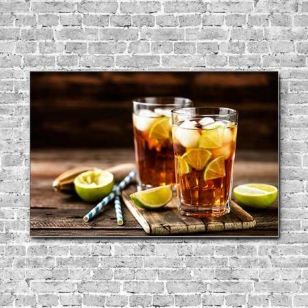Akustikbild Cocktail Cuba Libre Querformat