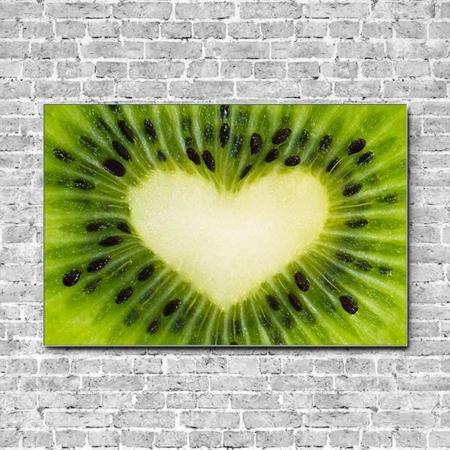 Akustikbild Kiwi Fruchtliebe Querformat