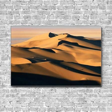 Akustikbild Düne Sand Querformat