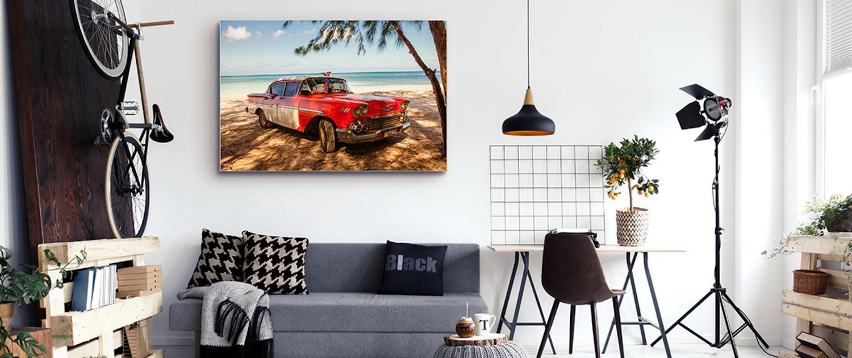 Günstiges Cuba Akustikbild für die Wohnung